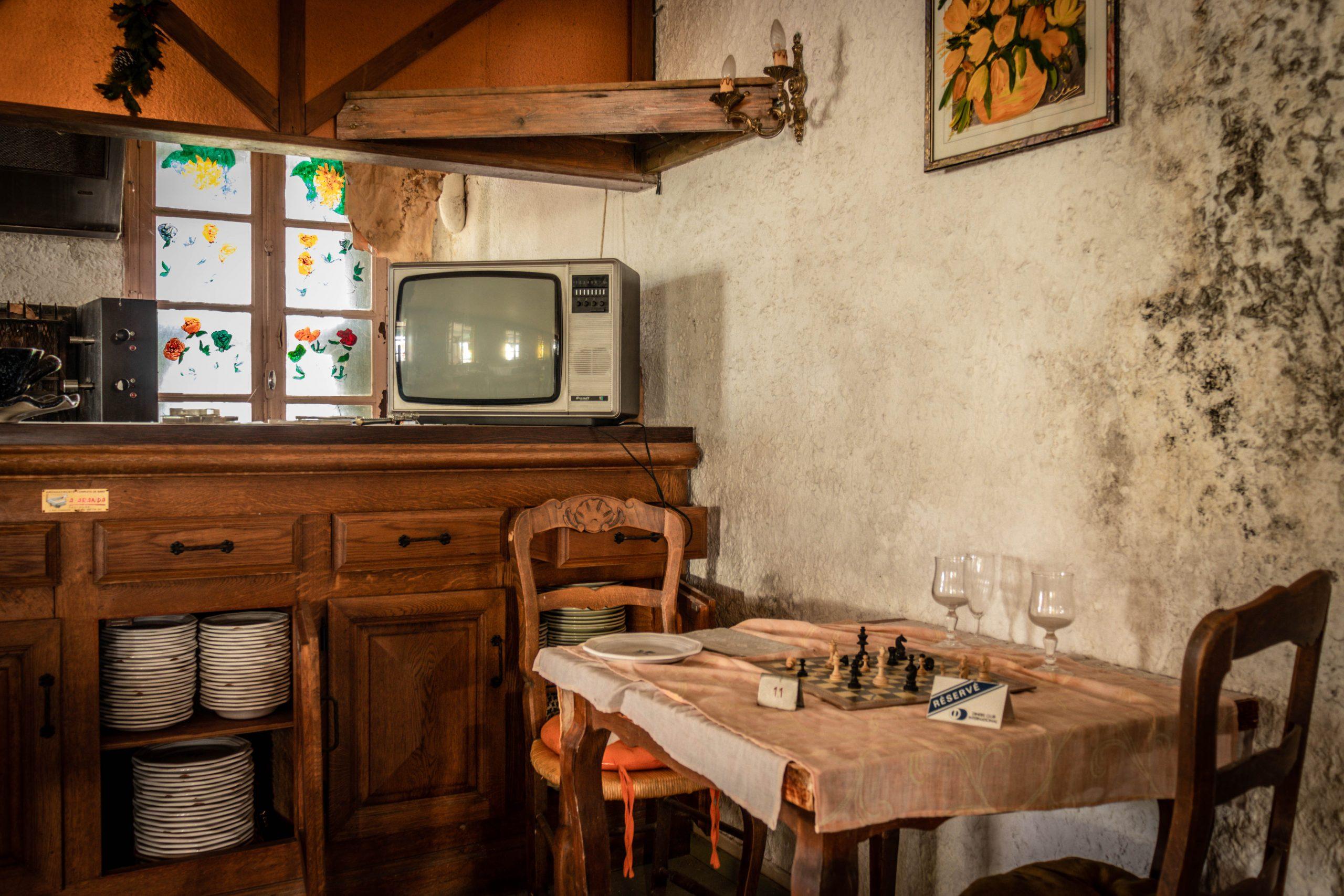 photo urbex restaurant haddock en suisse