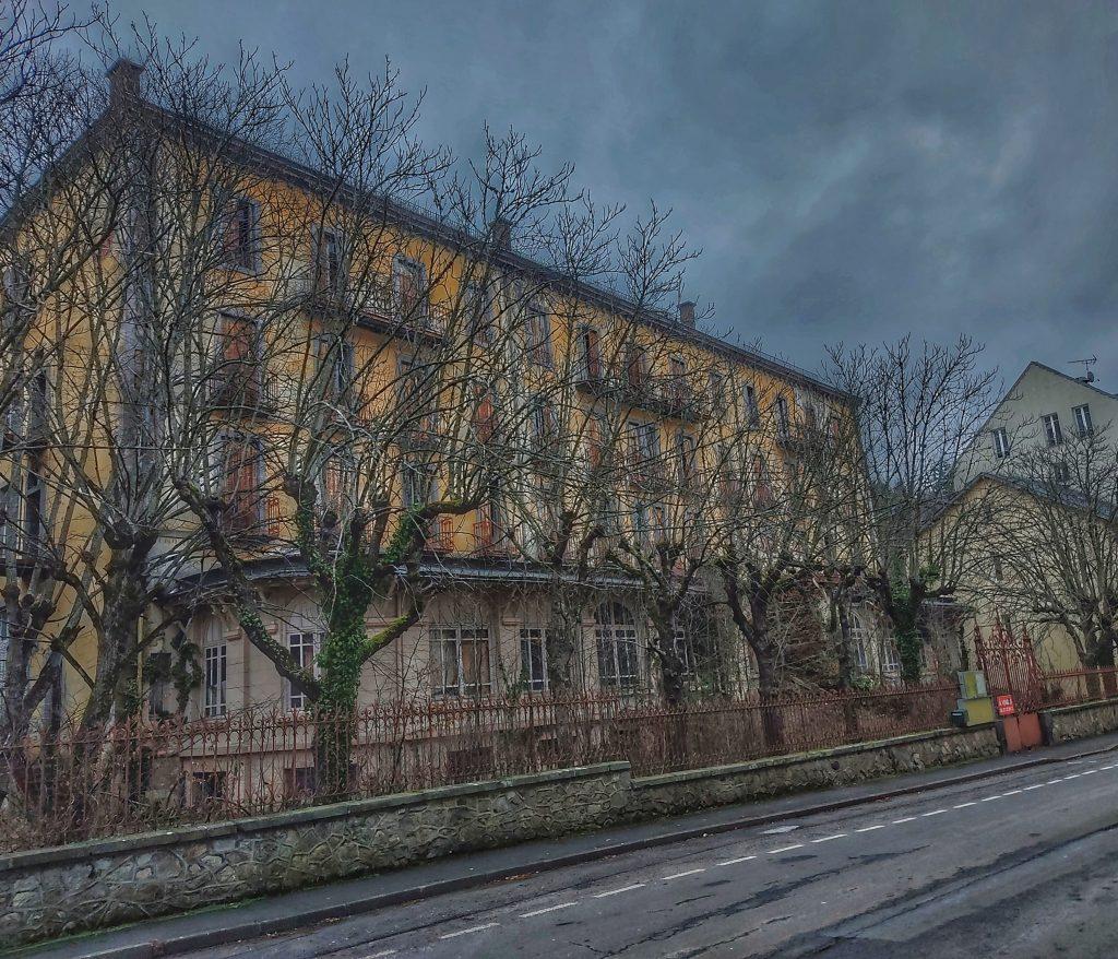 l'hôtel Capitole abandonné