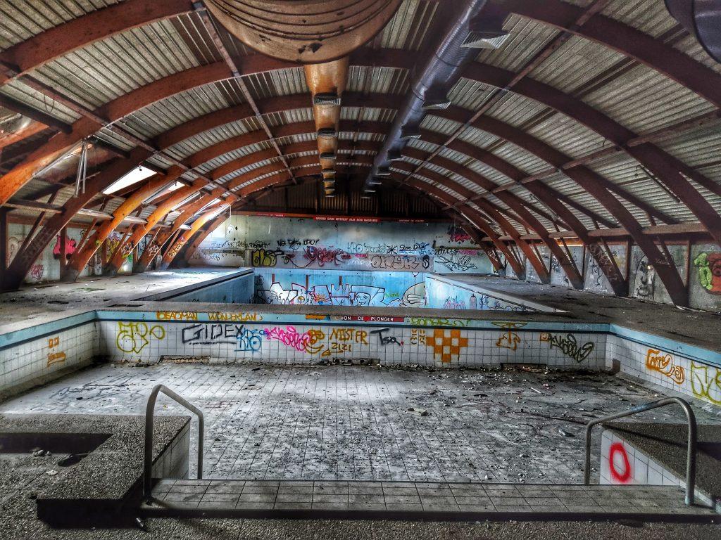 piscine abandonnée de riom