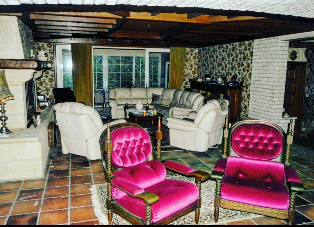 salon abandonné villa ginette