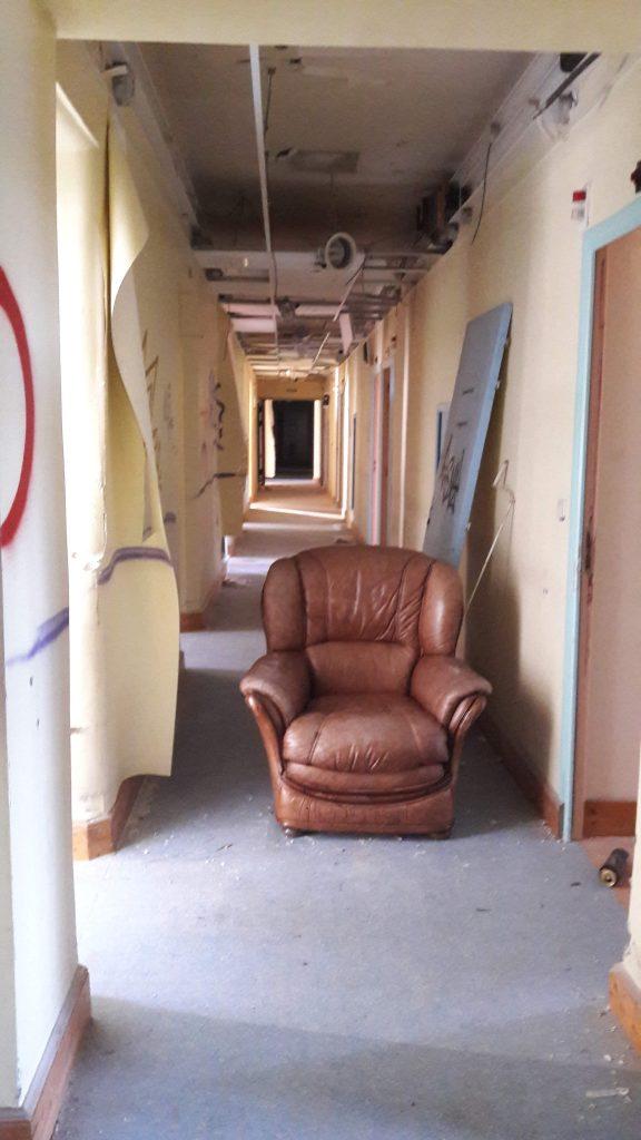 le sanatorium abandonné en savoie dans les alpes