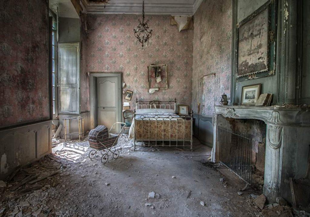 photo château abandonné en occitanie