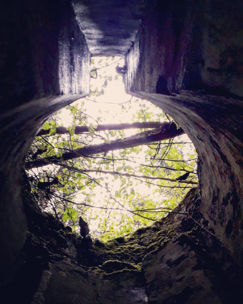 le fort de guerre abandonné dans les vosges